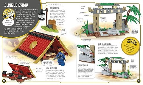 Build Your Own Adventure LEGO Ninjago Book 1