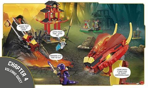 Build Your Own Adventure LEGO Ninjago Book 3