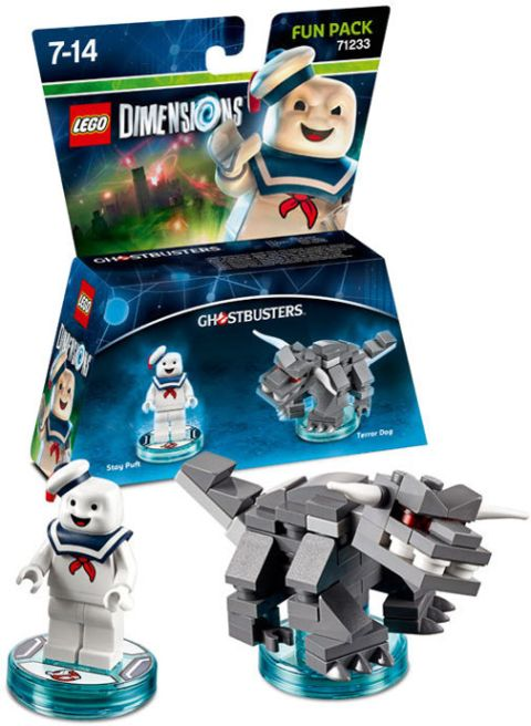 LEGO Dimensions Ghostbuster Pack with Stay Puft