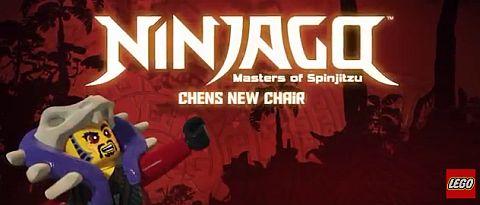 LEGO Ninjago Chen's New Chair Mini Movies
