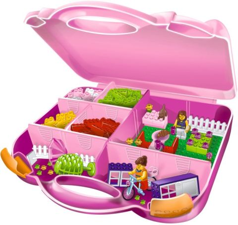 LEGO Storage Box Pink