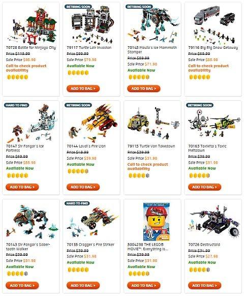 Shop LEGO Sales & Deals