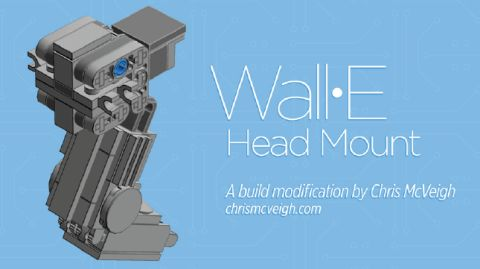 #21303 LEGO Ideas WALL-E Neck Modification