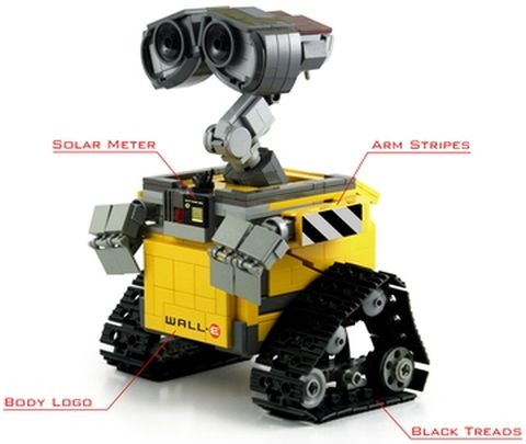 #21303 LEGO Ideas WALL-E Original Model Details