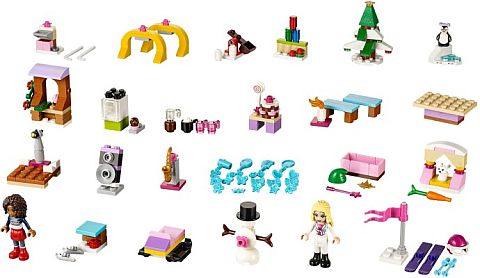 #41102 LEGO Advent Calendar Friends