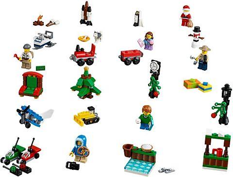 #60099 LEGO Advent Calendar City