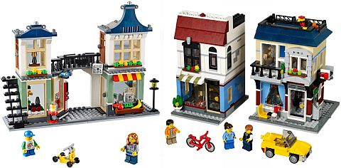 LEGO Creator Bike Shop Small Modular Buildings