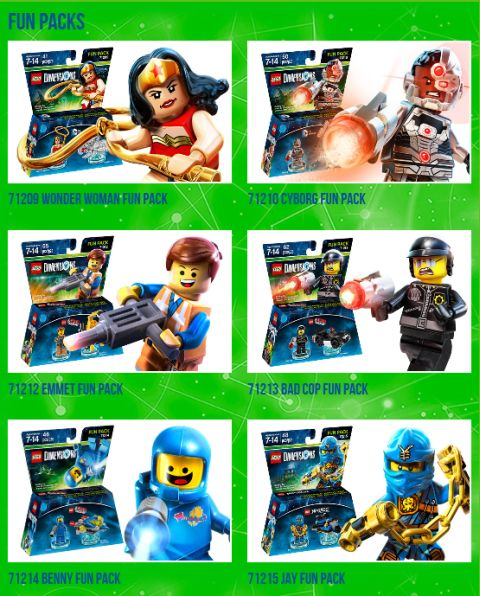 LEGO Dimensions Packs Fun