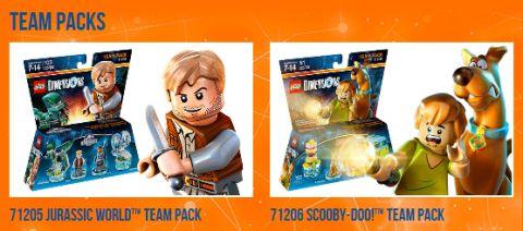LEGO Dimensions Packs Team