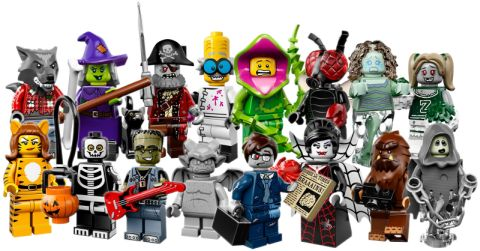 LEGO Minifigs Series 14 Collection