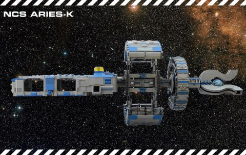 LEGO Spaceship NCS Aries-K Picture