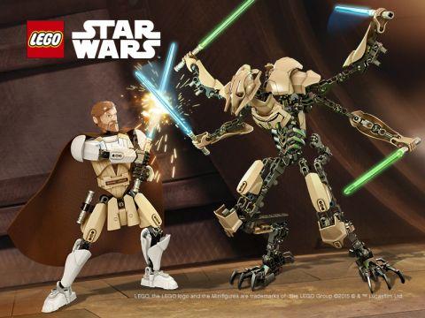 LEGO Star Wars Battle Figures Fight Scene
