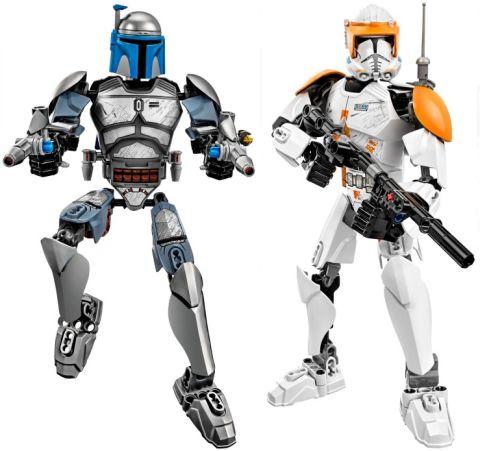 LEGO Star Wars Battle Figures Jango and Cody