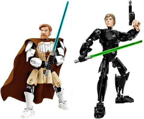 LEGO Star Wars Battle Figures Obi-Wan & Luke