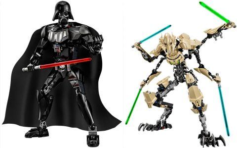 LEGO Star Wars Battle Figures Vader & Grievous