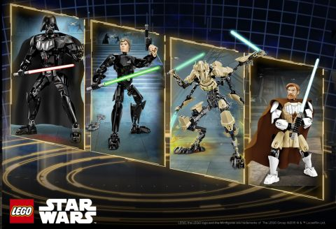 LEGO Star Wars Buildable Figures Review