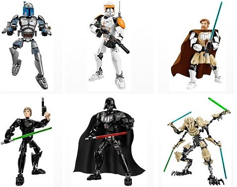 LEGO Star Wars Constraction Figures