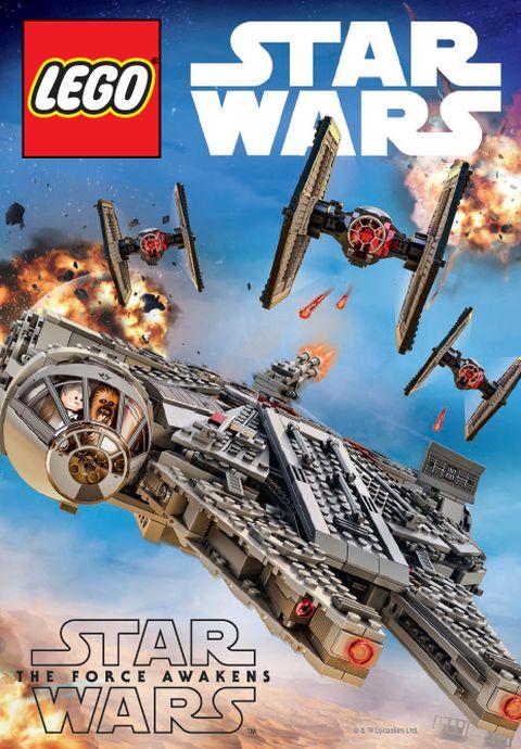 LEGO Star Wars The Force Awakens - LEGO Club Magazine