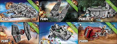 LEGO Star Wars The Force Awakens Sets