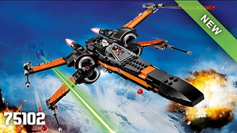 LEGO Star Wars The Force Awakens X-Wing