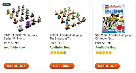 Shop LEGO Collectible Minifigures