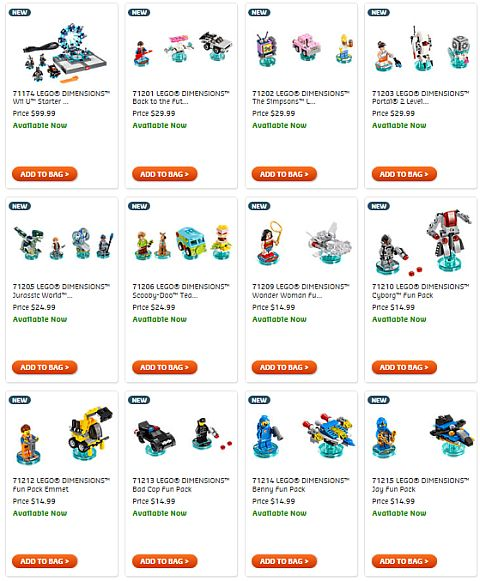 Shop LEGO Dimensions