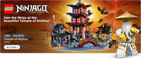 Shop LEGO Ninjago Temple