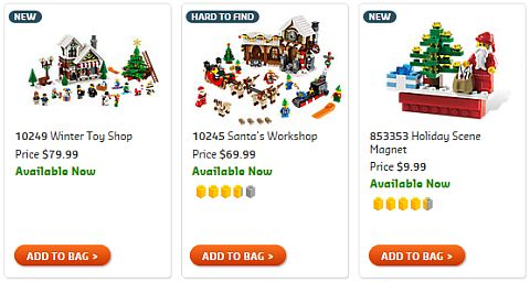 Shop LEGO Seasonal Sets