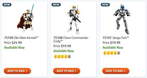 Shop LEGO Star Wars Battle Figures