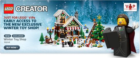 Shop LEGO Winter Village Toy Shop