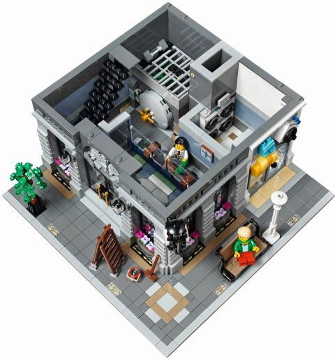 #10251 LEGO Creator Brick Bank Floor 1