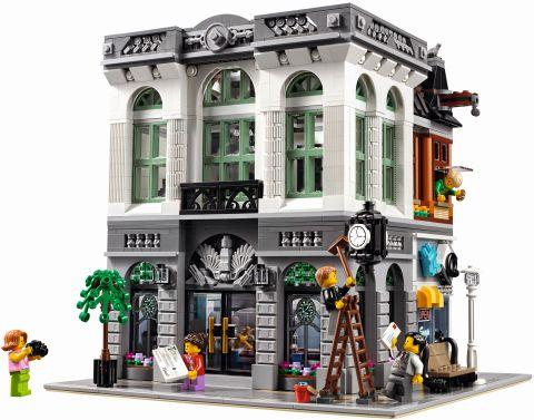 #10251 LEGO Creator Brick Bank Front