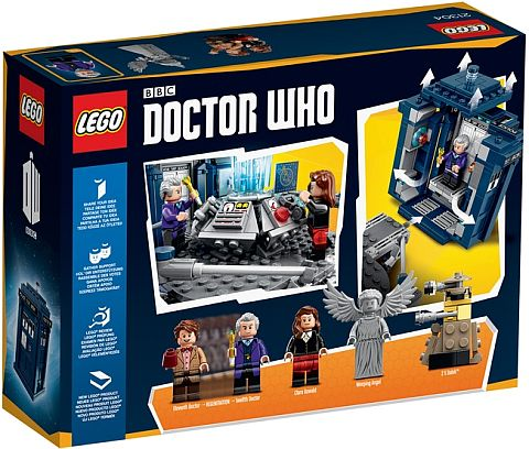 #21304 LEGO Ideas Doctor Who Box Back