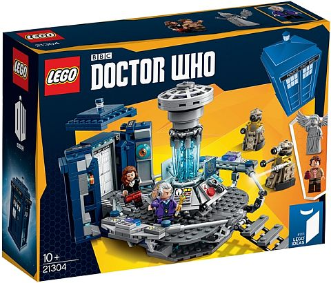 #21304 LEGO Ideas Doctor Who Box
