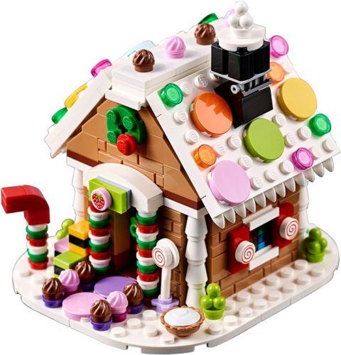 #40139 LEGO Creator Gingerbread House Details