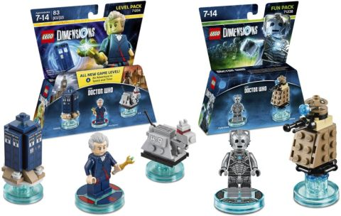 LEGO Dimensions Doctor Who Sets