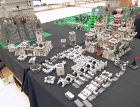 LEGO Modular Castle System by mkalkwarf 2
