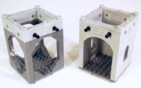 LEGO Modular Castle System by mkalkwarf 3
