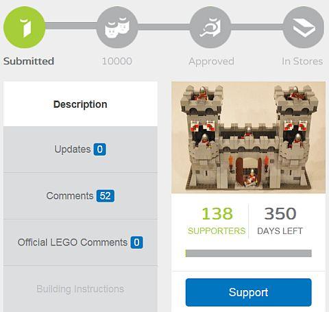 LEGO Modular Castle System by mkalkwarf 6