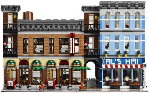 LEGO Modular Detective's Office Wide