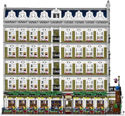LEGO Modular Parisian Wide and Tall