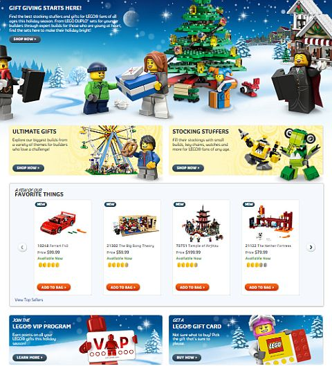 Shop LEGO Holiday Promotions