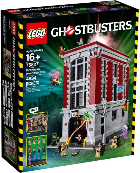 #75827 LEGO Ghostbusters Firehouse Box