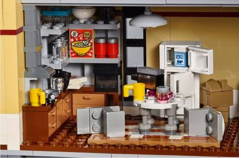 #75827 LEGO Ghostbusters Firehouse Interior 3