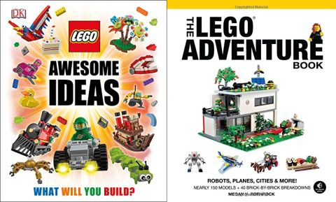 LEGO Book LEGO Ideas and LEGO Adventure