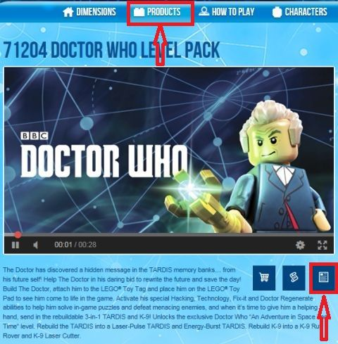 LEGO Dimensions Instructions How To