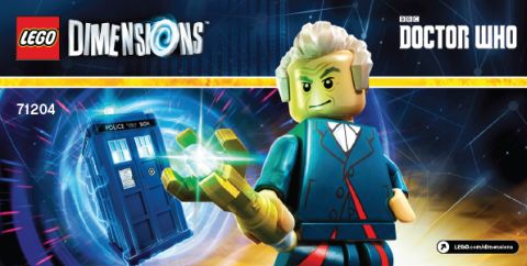 LEGO Dimensions Instructions Page