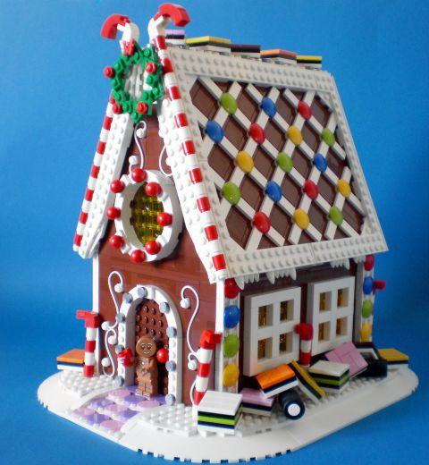 LEGO Gingerbread House by Koen
