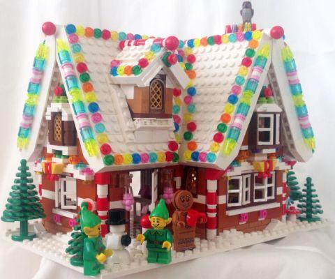 LEGO Gingerbread House by tsunami007
