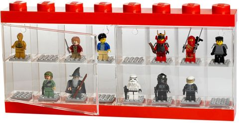 LEGO Minifigure Display Case Large Details